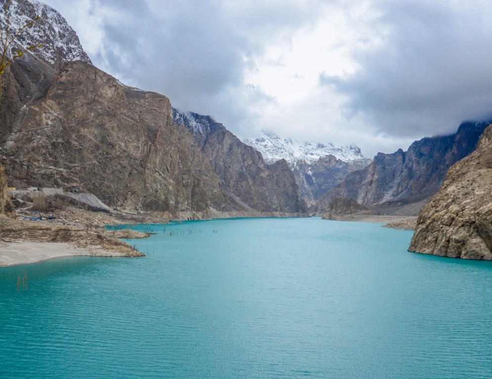 Attabad Lake is a lake in Gojal Valley, Hunza, Gilgit Baltistan, an administrative region of Pakistan. The lake was created in January 2010 as a result of the Attabad Disaster