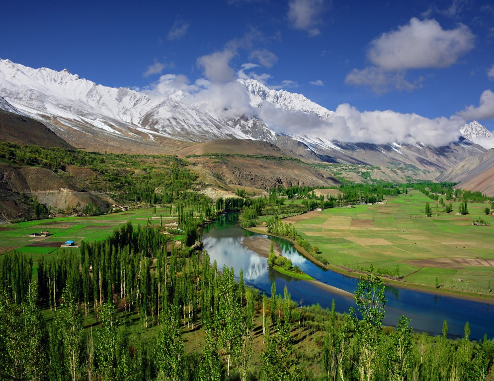 Ghizer District is the westernmost part of the Gilgit-Baltistan region of Pakistan. Its capital is Gahkuch. Ghizer is a crossroads between Gilgit and Chitral, and also to China and Tajikistan via the Karambar Pass through Ishkomen/Darkut Yasin.