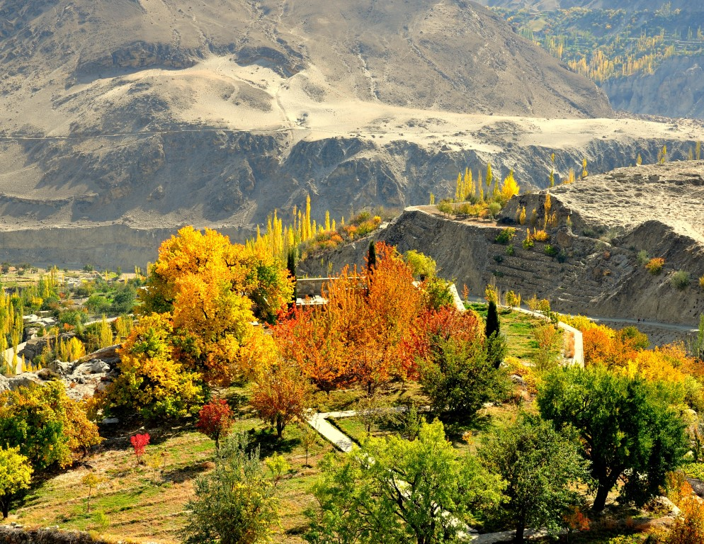 Hunza is a mountainous valley in the Gilgit-Baltistan region of Pakistan. Hunza is situated in the extreme northern part of Pakistan, bordering with the Wakhan Corridor of Afghanistan and the Xinjiang region of China.
