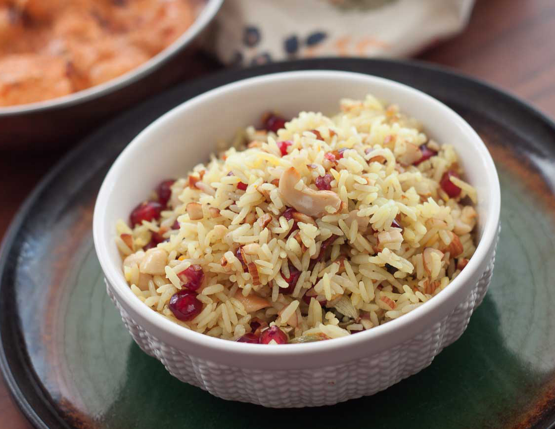 It is the name given to sweetened Kashmiri rice prepared using cinnamon, a little saffron, milk, ghee, sugar, cashew nuts,almonds,green cardamom among several ingredients.