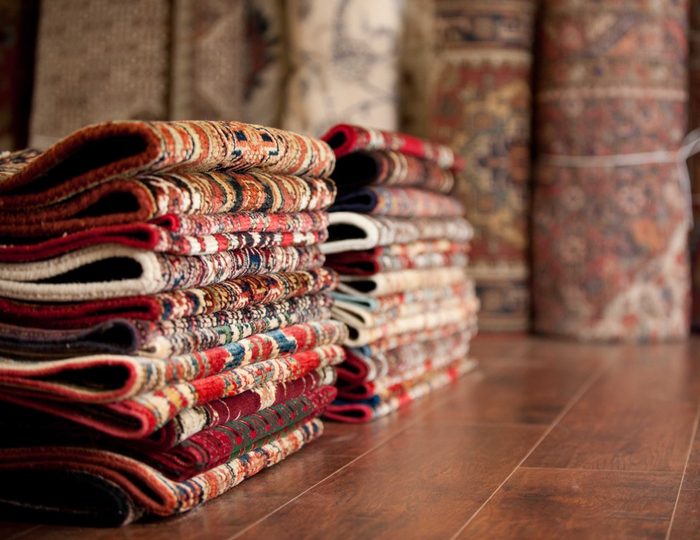 A Kashmir rug is a hand-knotted oriental rug from Kashmir which is associated with Kashmiri handicrafts
