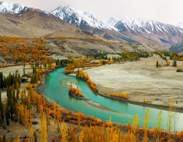Phandar Valley is situated 61 kilometers (38 miles) from the valley of Gupis, in District Ghizer of Gilgit-Baltistan, Pakistan.