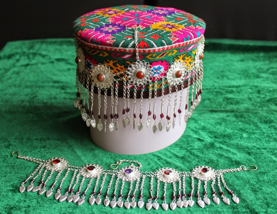 The colorful caps of women have become one of the most recognizable symbols of the people of Gilgit-Baltistan. The shapes, designs , embroidery and the  materials that are used to create the caps make them a piece of art.